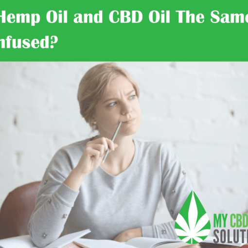 Confused Female Student - is Hemp Oil and CBD Oil The Same?