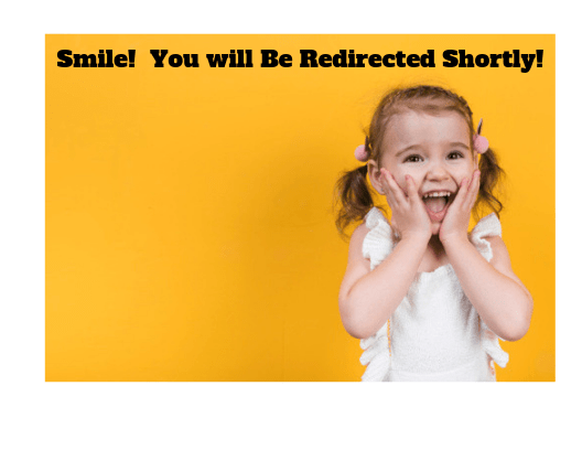 Smiling Little Girl With Hands On Face