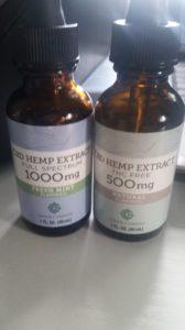 Green Compass CBD Hemp Extracts - Full Spectrum & THC Free